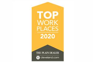 Cleveland Plain Dealer Top Workplace 2020